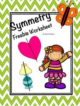Symmetry Freebie Worksheet