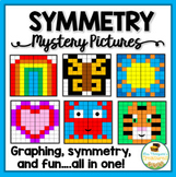 Symmetry Fun {Mystery Picture Graphing Activities}