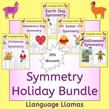 Symmetry - Holidays Bundle - Xmas, Easter, Halloween, Valentines and Earth Day