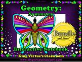 Symmetry Interactive Notebook BUNDLE - Geometry - Line of Symmetry