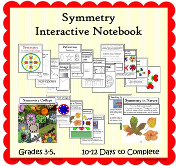 Symmetry Interactive Notebook  (INCLUDED in Art of the Pen