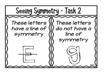 Symmetry Lesson Plans for a Week