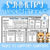 Symmetry Lesson Plan for a Week