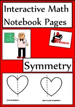 Symmetry Lesson for Interactive Math Notebooks