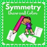 Kindergarten -2nd Grade-Symmetry Math Activities