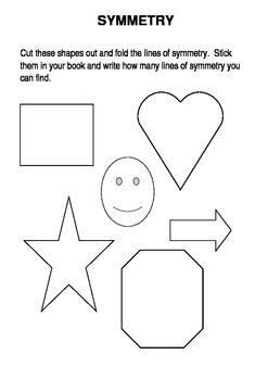 Symmetry Math & Art Fun Activities
