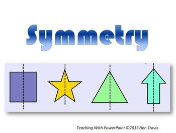 symmetry powerpoint printables teaching with powerpoint