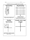 Symmetry Practice Worksheet