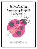 Symmetry Project: Reflection, Rotation, & Translation - Distance Learning