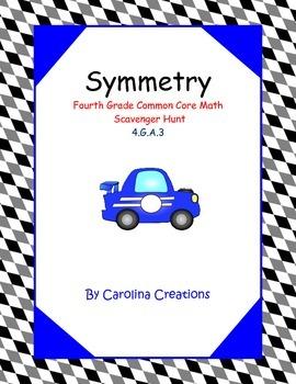 Symmetry Scavenger Hunt 4.G.A.3