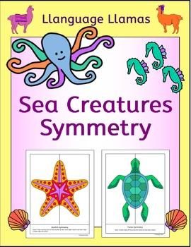 Symmetry - Sea Creatures - NO PREP Geometry
