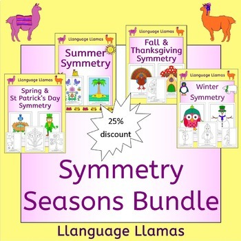 Symmetry - Seasons Bundle - Spring, Summer, Fall, Winter -