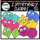 Symmetry Shapes Clipart