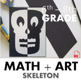 Symmetry Skeleton - An Art Lesson on Reflective Symmetry