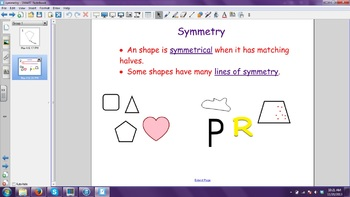 Symmetry Smartboard File