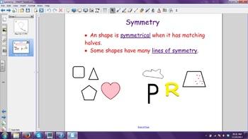 Symmetry Smartboard File