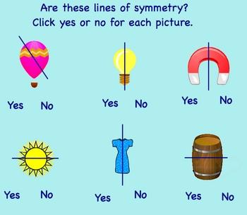 Symmetry - Smartboard Math Lesson