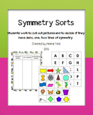 Symmetry Sorting Activity