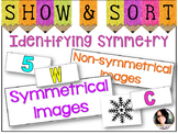 Symmetry Sorting - PERFECT FOR CENTERS! COMMON CORE ALIGNE
