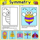 Summer Critters Symmetry Activity - Fun End of the Year Activities