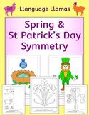 Spring & St Patrick's Day Symmetry - NO PREP