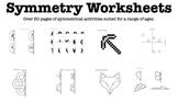 Symmetry / Symmetrical Worksheets