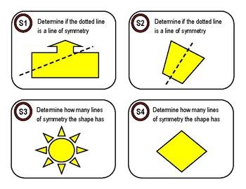Symmetry Task Cards