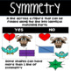 Symmetry Task Cards & Color Sheets