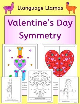 Valentine's Day Symmetry NO PREP geometry fun