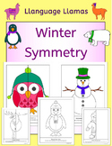 Winter Symmetry NO PREP Geometry fun