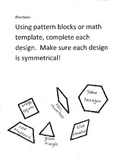 Symmetry Workbook - 8 pages