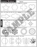 Symmetry Worksheet 3