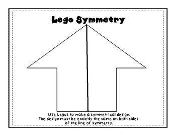 Symmetry and Congruence Puzzles to use with Legos or Shape Blocks