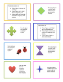 Symmetry and Congruence Task Cards