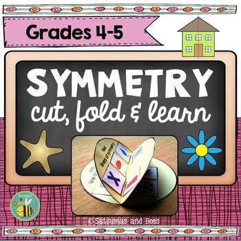 Symmetry flip book {CCSS 4.G.A.2, 4.G.A.3}