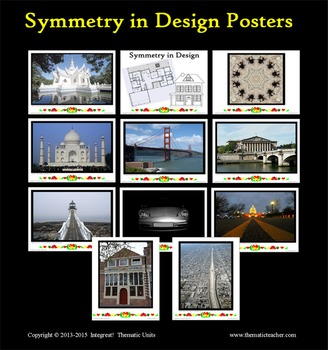 Symmetry in Design Posters (INCLUDED in Art of the Pennsylvania Dutch)