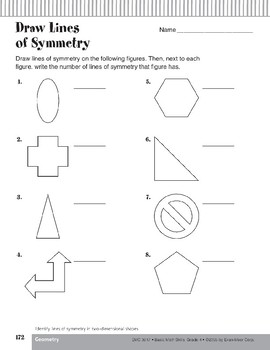 Symmetry in Two-Dimensional Shapes