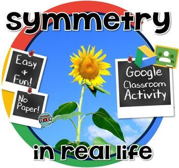 Symmetry in the Real World GOOGLE CLASSROOM