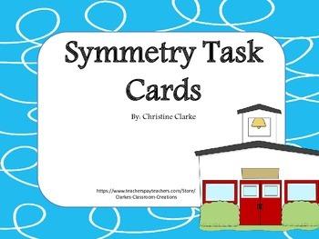 Symmetry (rotation, reflection & translation) Task Cards