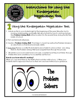 Kindergarten Behaviour Management and Parent Communication (pdf)