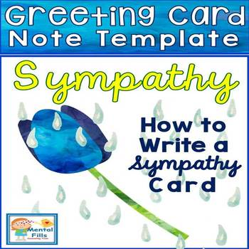 How To Write A Sympathy Note