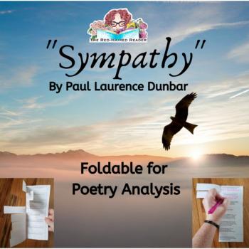 Sympathy Paul Laurence Dunbar Foldable Poetry Analysis tool Harlem Renaissance