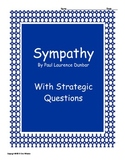 Sympathy by Paul Laurence Dunbar with questions