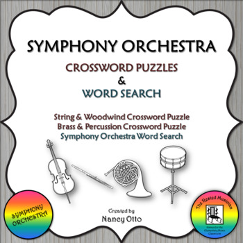 Symphony Orchestra Crossword Puzzles & Word Search