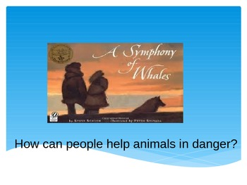 Symphony of Whales Vocabulary Powerpoint