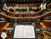 Symphony or Art Music Game #musicathome