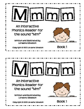 "Symple Readers Book 1: ""Mmmm"" Phonics Reader"