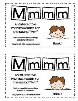 "Symple Readers Book 1: ""Mmmm"" Phonics Reader"