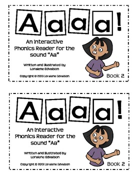 "Symple Readers Book 2: ""Aaaaah"" Phonics Reader"