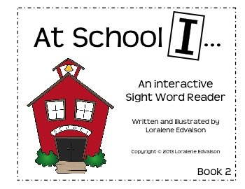 "Symple Readers Book 2:""I"" Sight Word Reader"